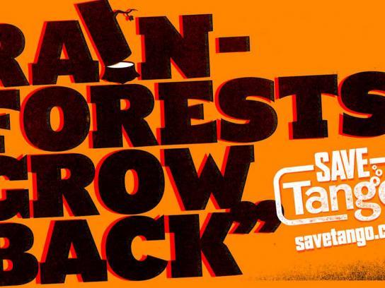 Tango Print Ad -  Rainforest
