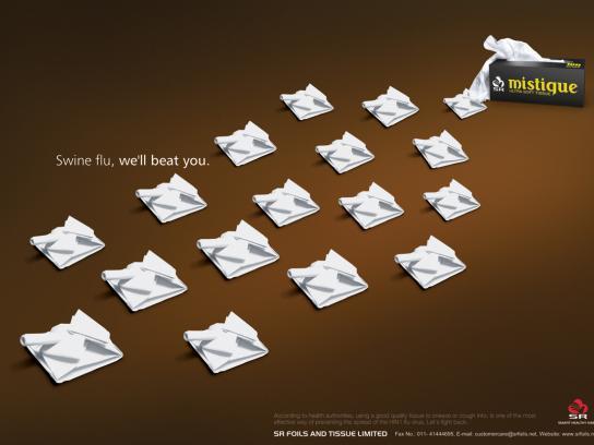 Mistique Tissue Print Ad -  Tank