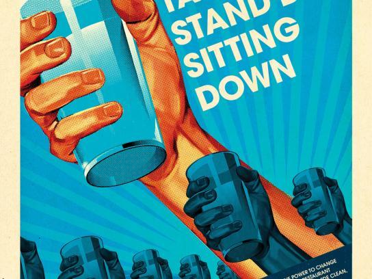 Unicef Print Ad -  Stand