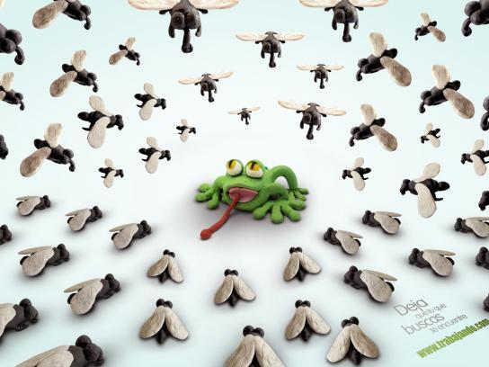 www.trabajando.com Print Ad -  Toad