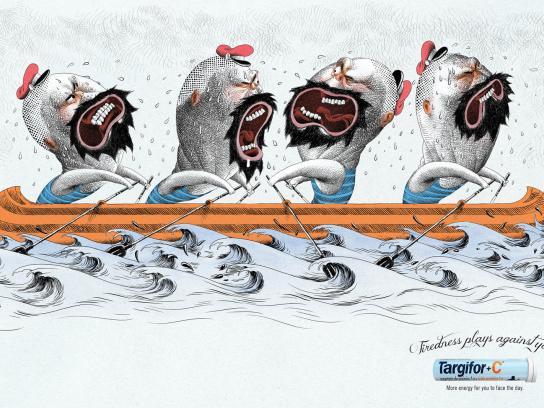 Targifor Print Ad -  Rowing