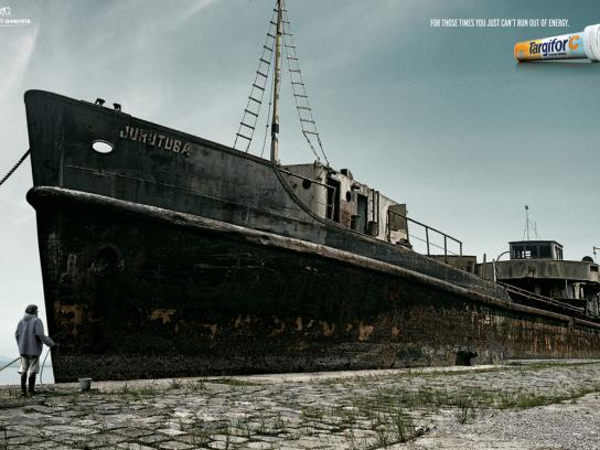 Targifor Print Ad -  Ship