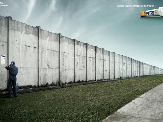 Targifor Print Ad -  Wall