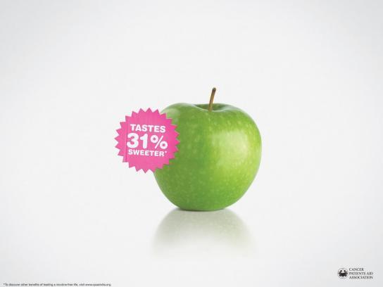 Anti-smoking, Apple