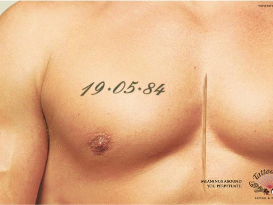 TattooYes Print Ad -  Chest