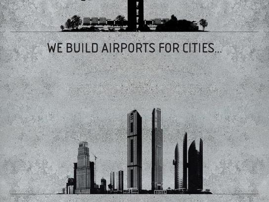 TAV Construction Print Ad -  Cities