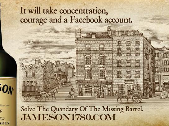 Jameson Print Ad -  Jameson 1780, Tavern