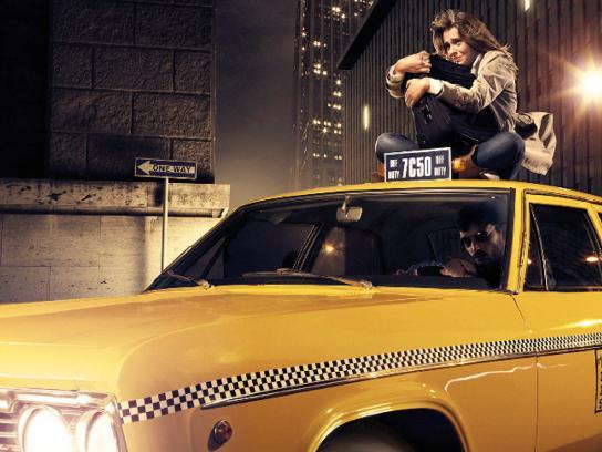 Studio Universal Print Ad -  Taxi driver