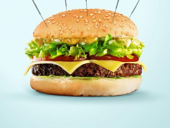 Esmenta Print Ad -  Burger