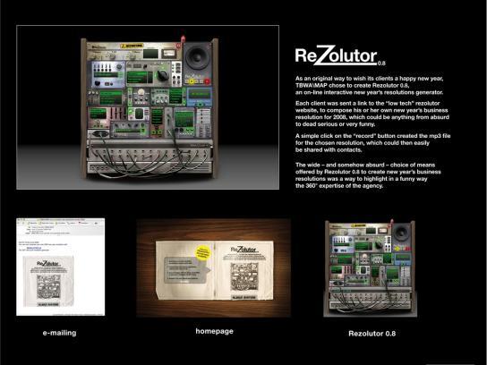 TBWA Digital Ad -  ReZolutor 0.8