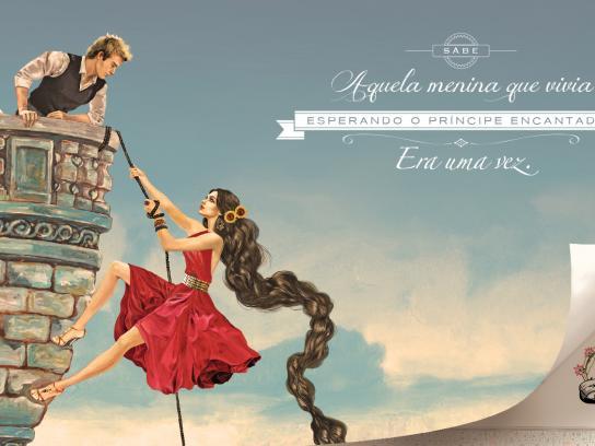 Tchica Print Ad -  Princess