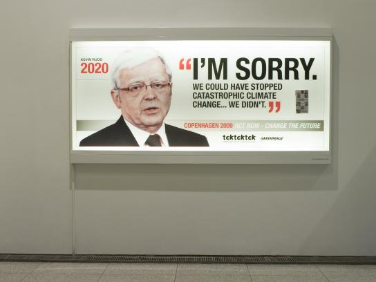 Greenpeace Outdoor Ad -  Kevin Rudd