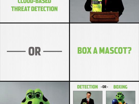 Webroot Digital Ad -  Box a mascot