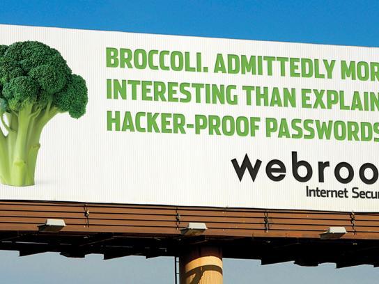 Webroot Outdoor Ad -  Broccoli