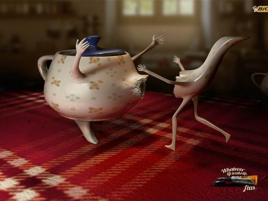 BIC Print Ad -  Teapot