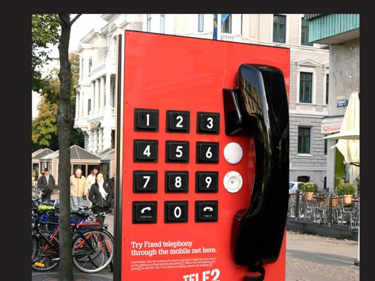 Tele2 Ambient Ad -  Giant Phone