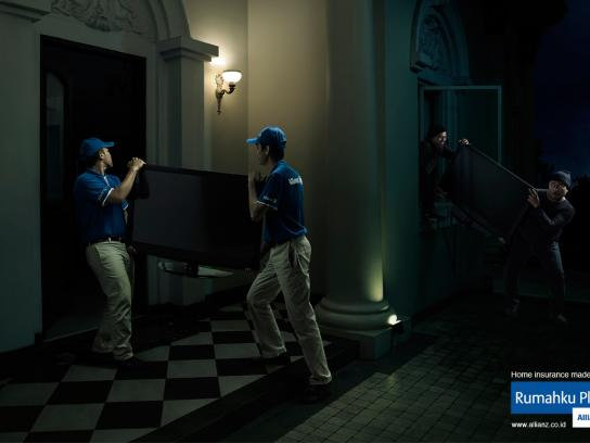 Allianz Print Ad -  Television Thieves