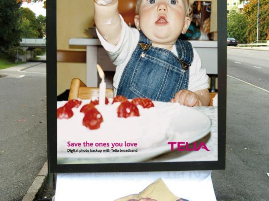 Telia Ambient Ad -  Save, 1