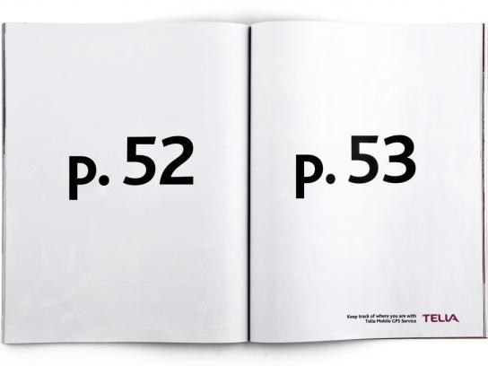 Telia Print Ad -  Pages