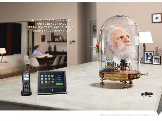 Telstra Print Ad -  Invention
