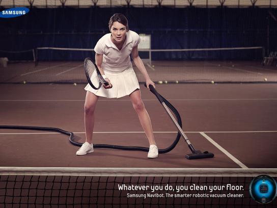 Samsung Print Ad -  Tennis