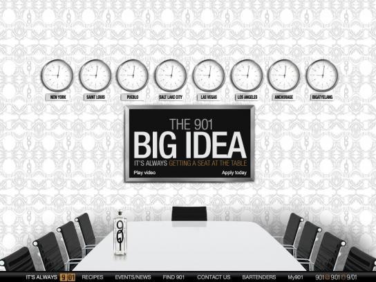901 Silver Tequila Digital Ad -  The 901 Big Idea