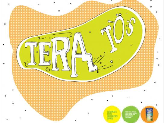 Teratos Print Ad -  Kick