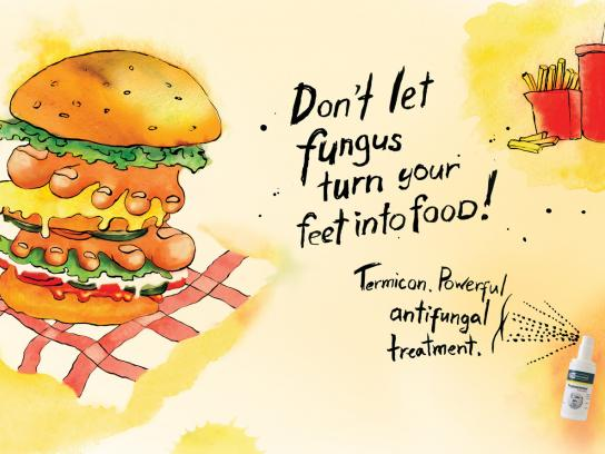 Termicon Print Ad -  Hamburger