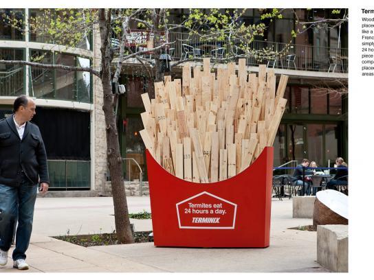 Terminix Ambient Ad -  Fries