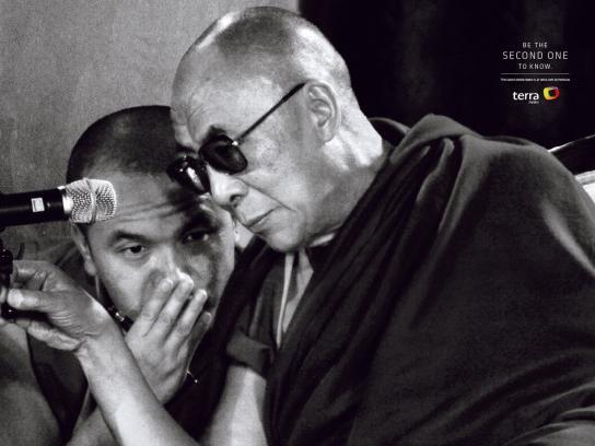 Terra Print Ad -  Dalai Lama