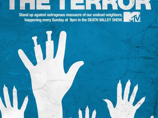 MTV Print Ad -  Terror