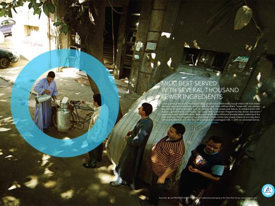 Tetra Pak Print Ad -  Loose milk