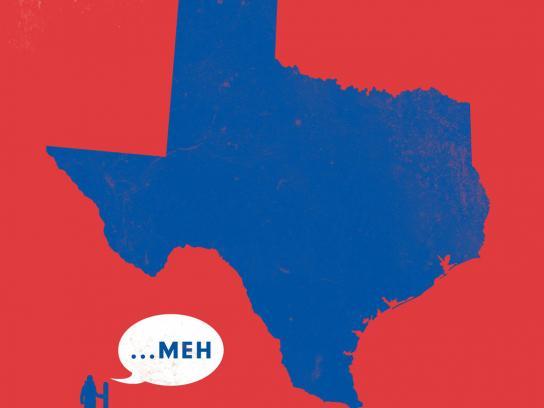 Powder Mountain Print Ad -  Texas