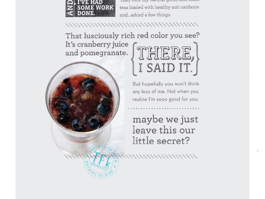 True Food Kitchen Print Ad -  Cranberry