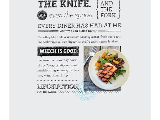 True Food Kitchen Print Ad -  Salmon