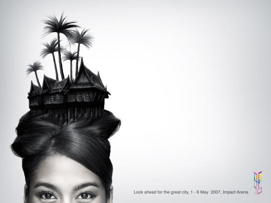 Thai house hair
