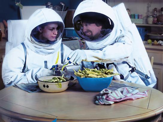 Digi TV Print Ad -  The Astronauts