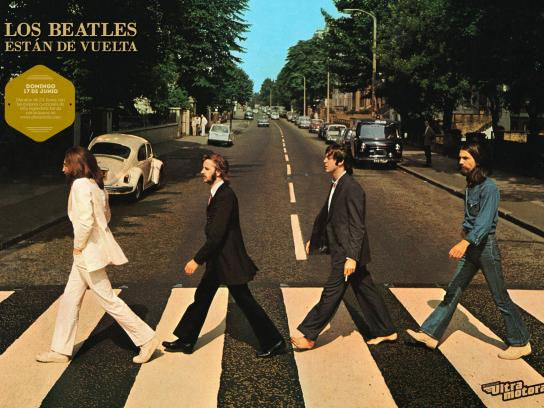 Ultramotora Print Ad -  The Beatles are back