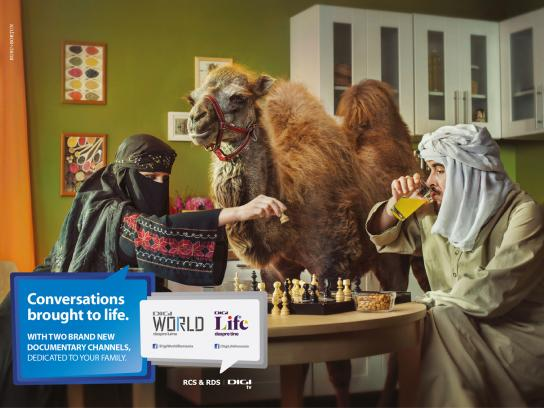 Digi TV Print Ad -  The Bedouins