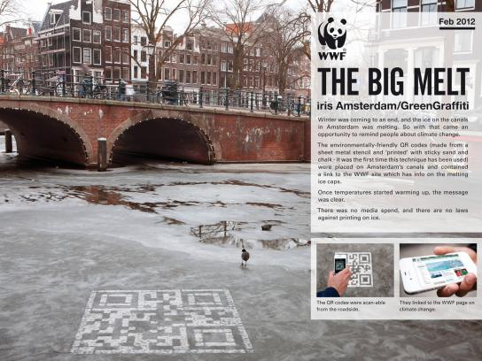 WWF Ambient Ad -  The Big Melt