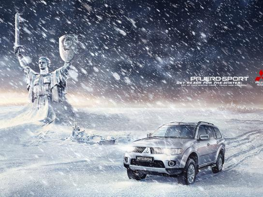Pajero Print Ad -  The Day After Tomorrow