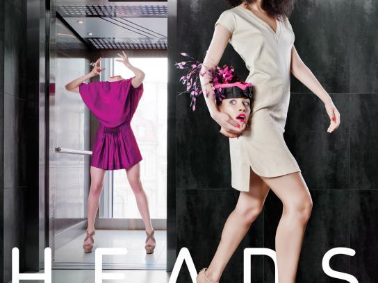 Kristina Dragomir Print Ad -  The elevator