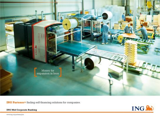ING Print Ad -  Equipments