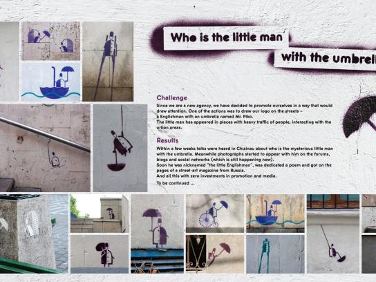 Piko Ambient Ad -  The little Englishman Project