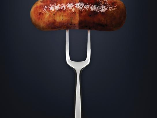 The Wayside Chapel Outdoor Ad -  Sausage Pill
