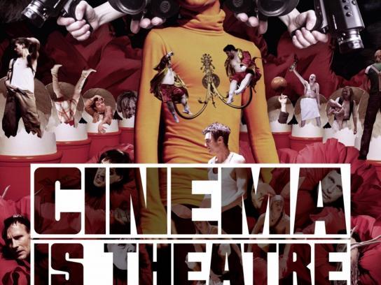 The Hamburg theatre Print Ad -  Cinema