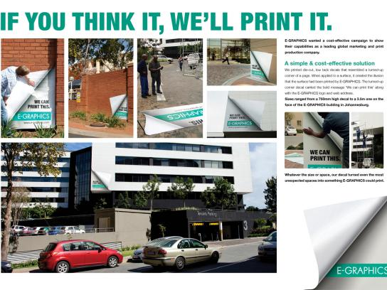 E-Graphics Outdoor Ad -  The Office
