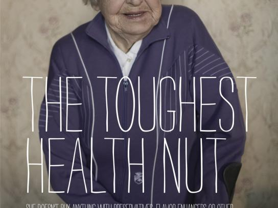 Order of Malta Outdoor Ad -  The Toughest Health Nut