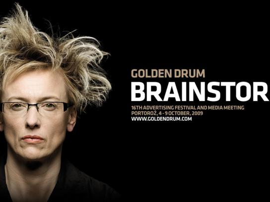 Golden Drum Print Ad -  Brainstorming, 2