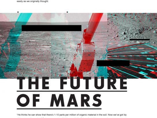 Martian Summer Outdoor Ad -  The future of Mars